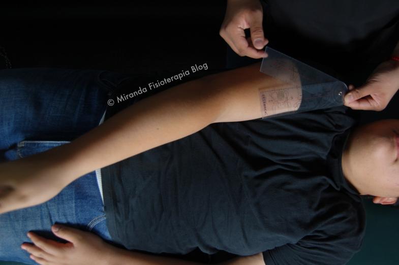 Goniometría: aducción del hombro