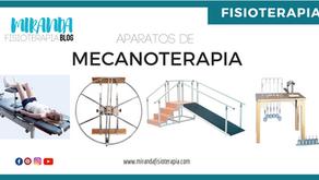 Aparatos de mecanoterapia: clasificación, indicaciones, contraindicaciones