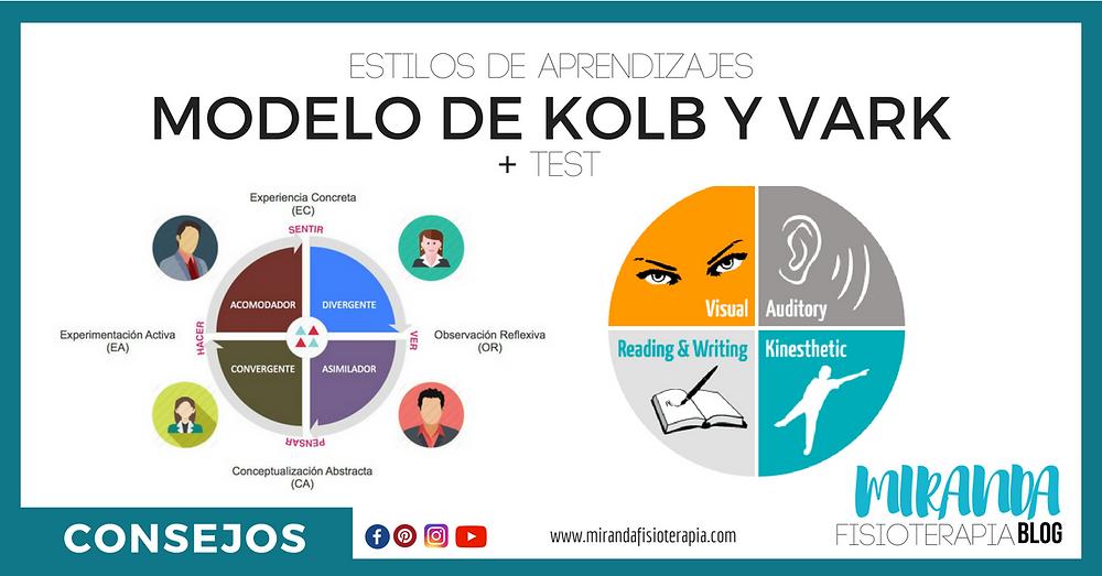 estilos de aprendizajes: modelo de kolb y VARK