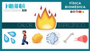 ¿Qué es el calor específico?