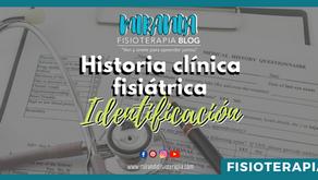 Historia clínica fisiátrica: Ficha de identificación #2