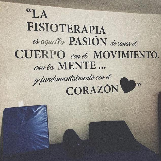 Frase en la pared