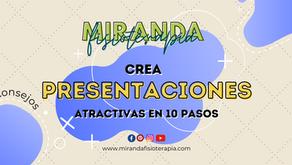 Crea presentaciones atractivas en 10 pasos