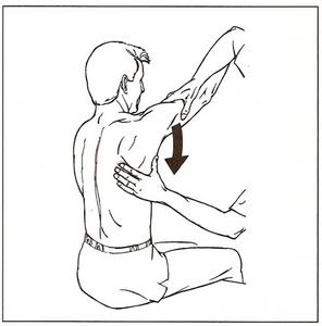 Movimientos de la escápula- Abducción y rotación superior de la escápula