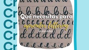 Lettering, aprende a dibujar letras #MiExperiencia