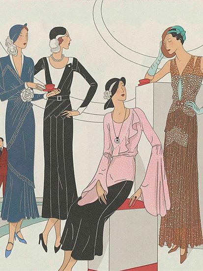 Art Deco Fashion Magazine No. 18