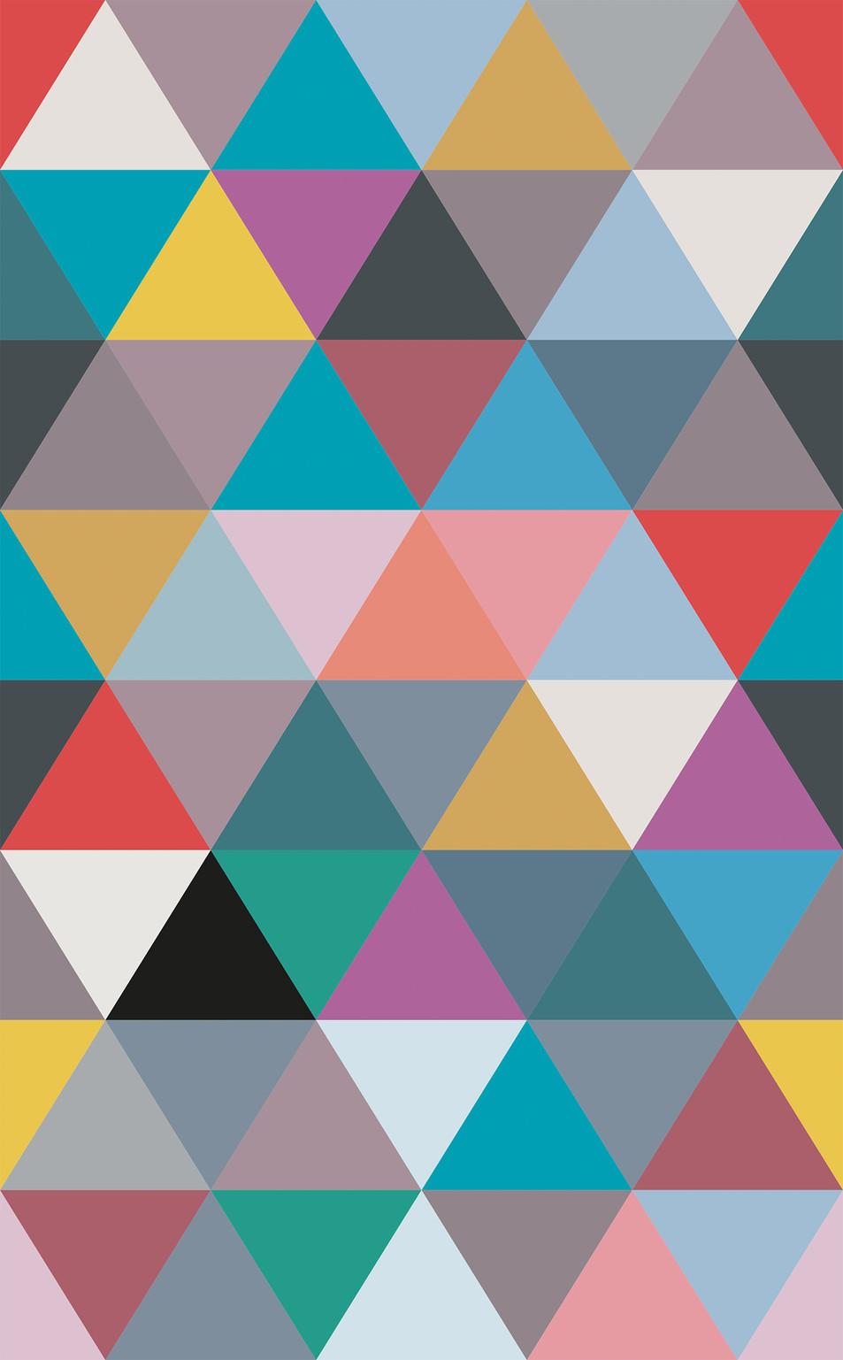 Triangle No. 01 Grey Blue