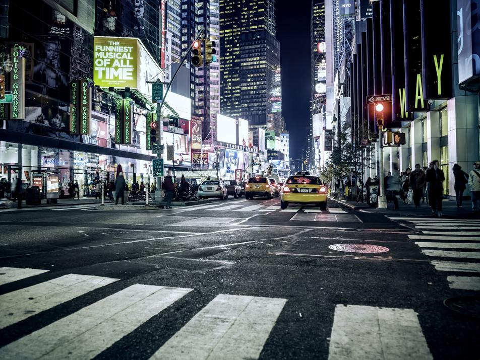 Street at Night No. 02