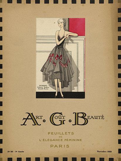Art Deco Fashion Magazine No. 07