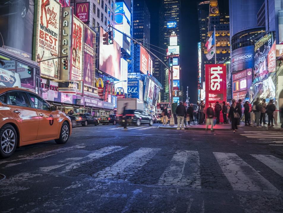 Street at Night No. 01