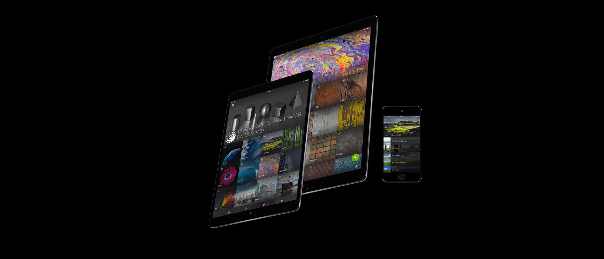 ipad iphone apple collage app berlintapete smugmug