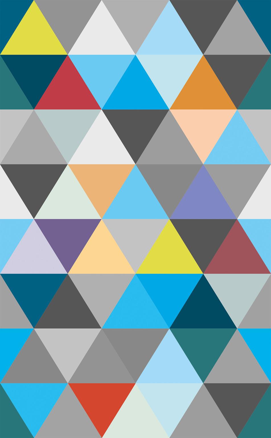 Triangle No. 03 Blue Grey