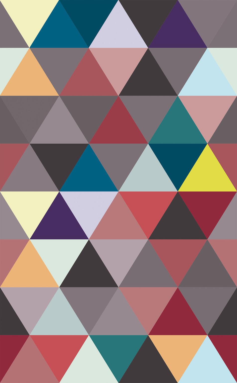 Triangle No. 02 Brown