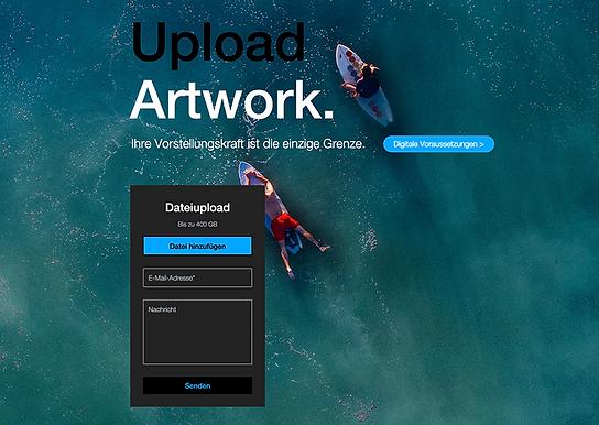 upload artwork berlintapete dropbox