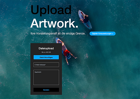 upload artwork berlintapete dropbox