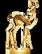 bambi berlintapete Aram Radomski Preis Gold