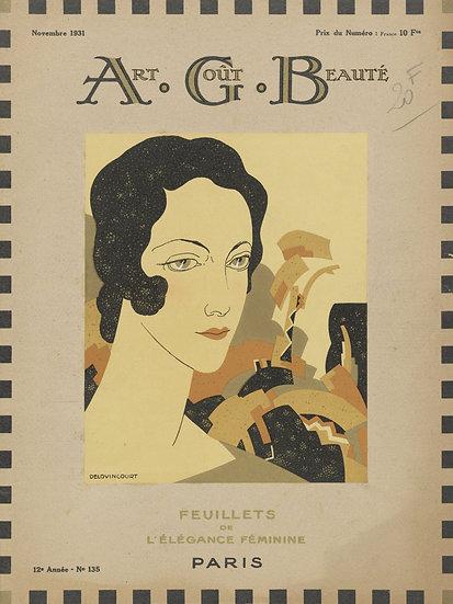 Art Deco Fashion Magazine No. 24