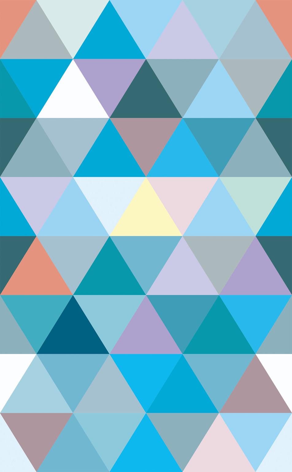 Triangle No. 05 Blue Mint