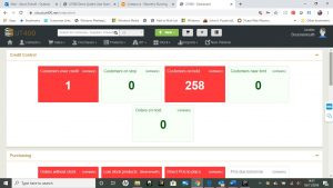 Credit Controller KPI Dashboard