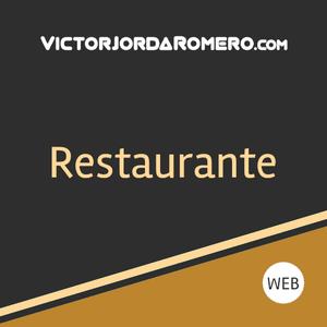 Fabricar web para restaurante   Victor Jorda Romero