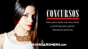 Participa en los concursos para ganar fantásticos premios | Victor Jorda Romero