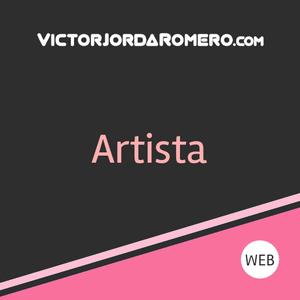 Fabricar web para artista   Victor Jorda Romero