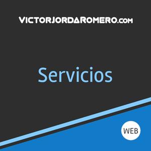 Fabricar web para servicios   Victor Jorda Romero