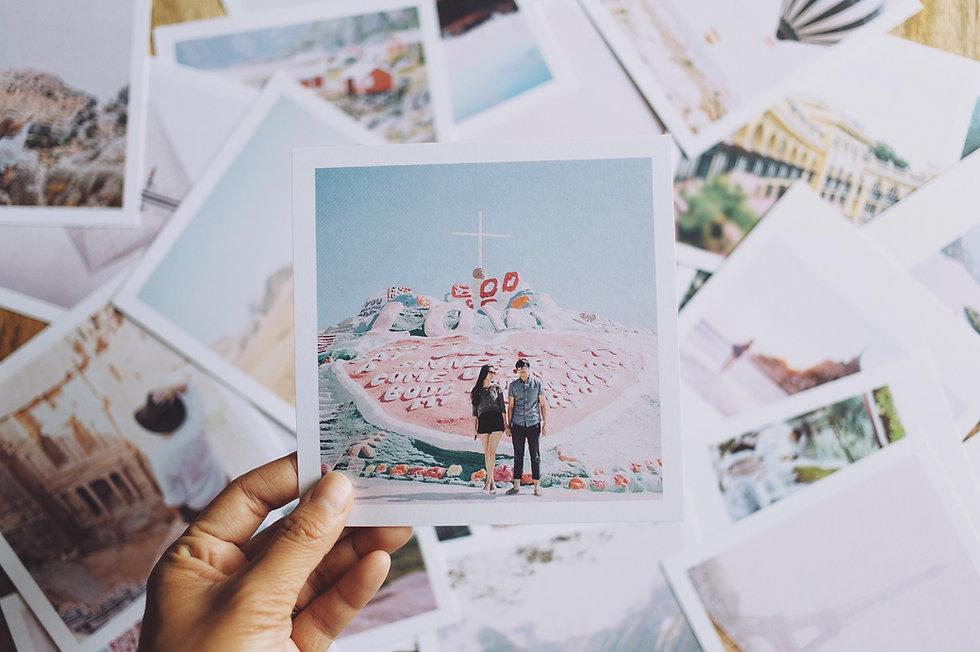 Polaroids di viaggio