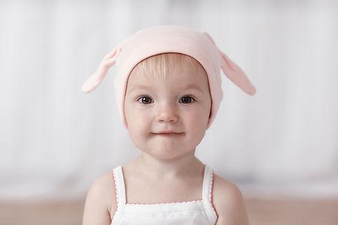 Mütze mit Hasenohren
