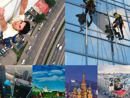 """Боязнь высоты """"Москва Доверие""""!"""