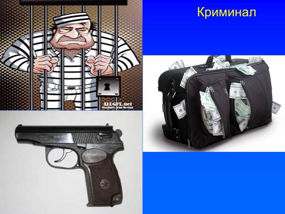 Судимости погашенные не погашенные, оружие, взаимовыгодные услуги с лицами занимающимися криминалом