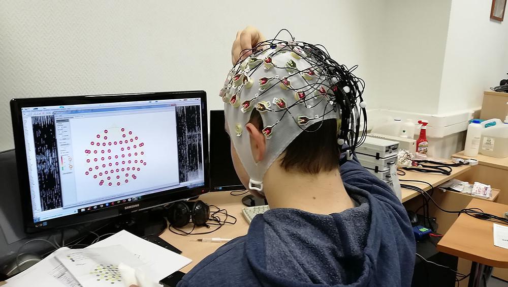 64-канальная активная электронная система Brainproducts Acivecap 256-канального электроэнцефалографа