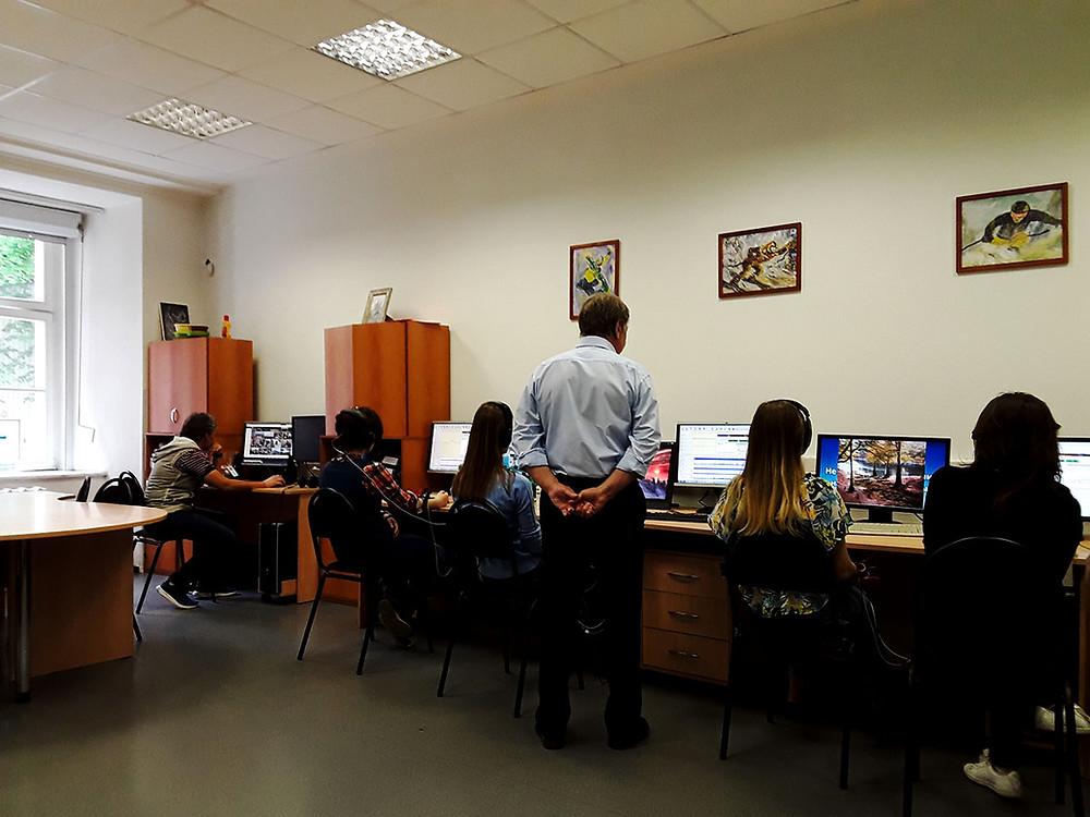 Исайчев С.А. обучает технологиям с БОС