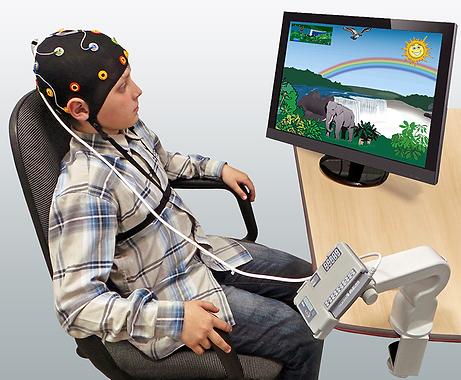Нейроуправление или нейрофитнес, с прибором с биологической обратной связью!