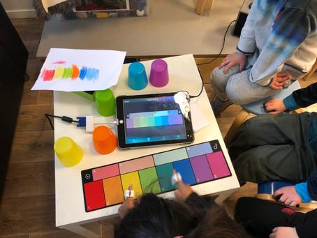 Sphero Specdrums: La fargene bestemme tonene