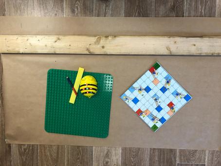 Bee-Bot & Blue-Bot stigespill
