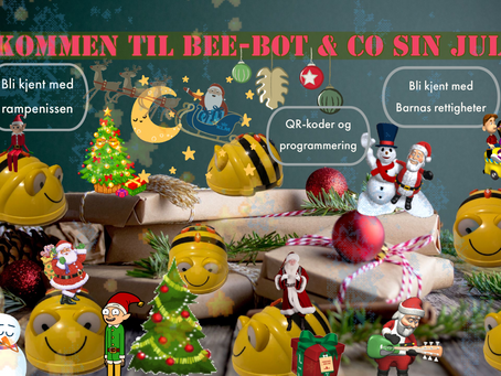Årets julekalender - Velkommen til Bee-Bot sin juleby 2019