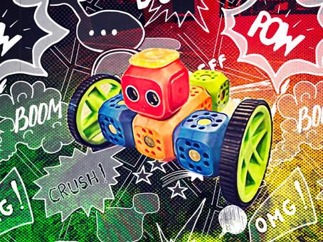 Robo Wunderkind - Barna kan bygge ulike roboter