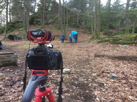 Villmarksdyr - Film innspilling