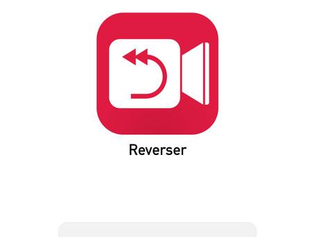 Lag baklengs film med appen: Reverser