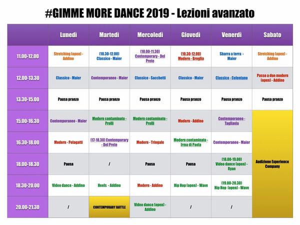 Gimme more dance 2019 scuola di danza ge