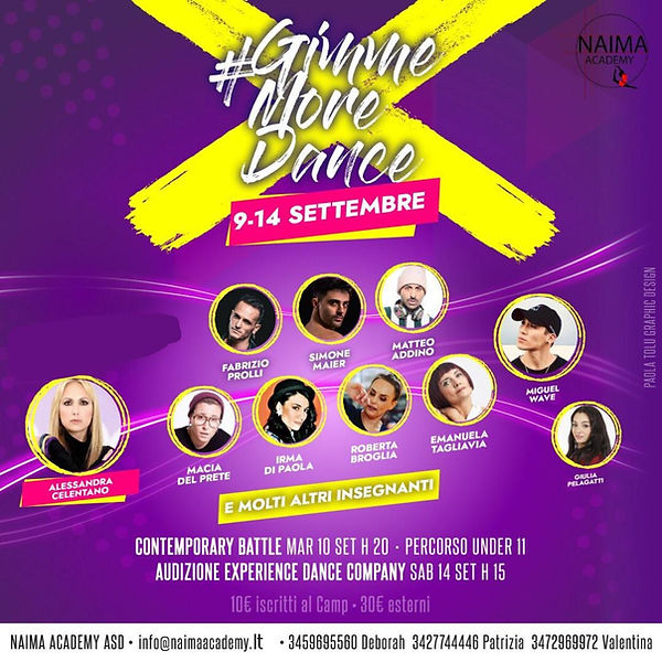 Naima Academy Gimme more dance stage gen