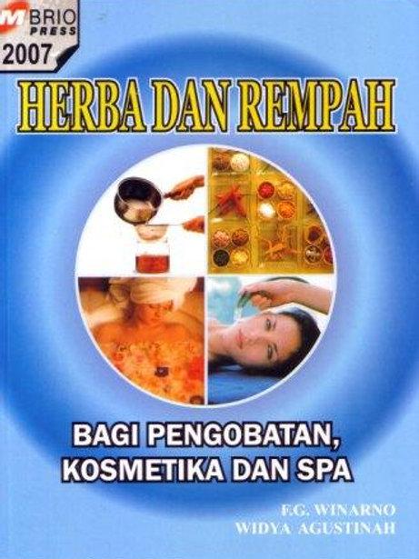 Herba dan Rempah Bagi Pengobatan, Kosmetik dan Spa
