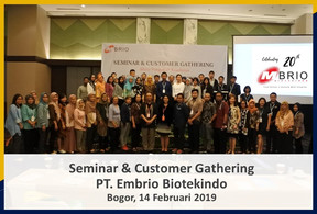 Seminar & Customer Gathering MBRIO 2019
