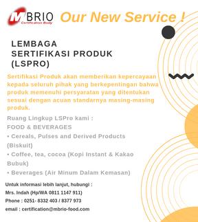 Jasa Sertifikasi Terbaru dari MBRIO
