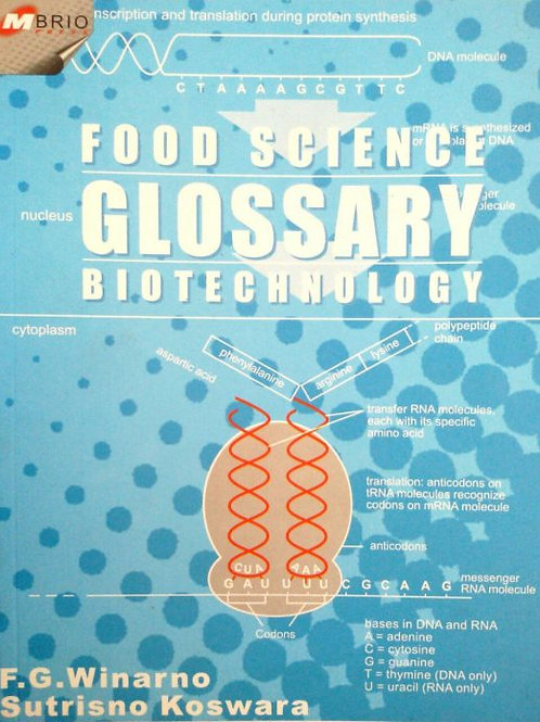 Food Science Glossary Biotechnology