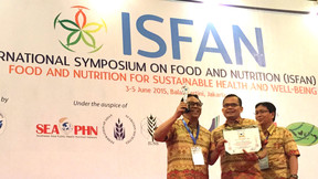 "MBRIO Founder Awarded as ""Indonesia's Father of Food Science"""