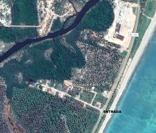 Kanto do Karioka  - localização