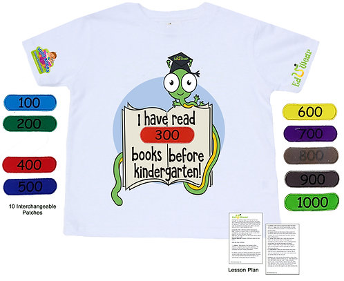 1000 Books Before Kindergarten Interactive T-shirt