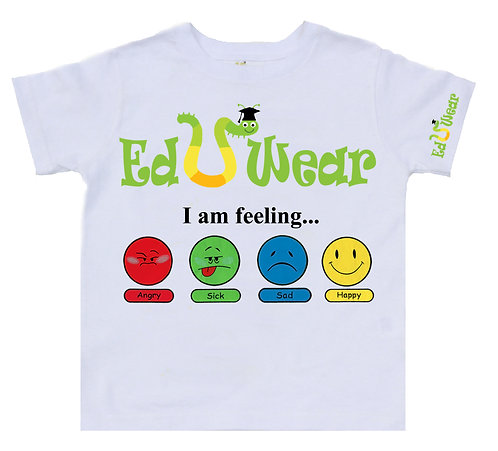 I Am Feeling Interactive Educational T-shirt